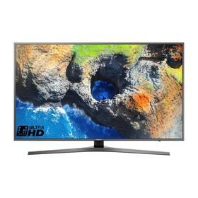 Samsung UE65MU6452 titanium 3D Blu-ray přehrávač Samsung BD-J5500, bílý (zdarma) + Doprava zdarma