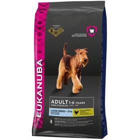 Eukanuba Adult Large Breed 15 kg + 3kg Zdarma Granule Eukanuba Adult Large Breed 3 kg (zdarma) + Doprava zdarma