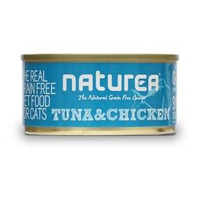 Konzerva Naturea GF Cat - Tuna, Chicken 80g