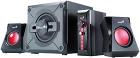 Genius GX Gaming SW-G2.1 1250 (31730980100) černá/červená + Doprava zdarma