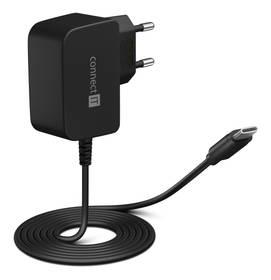 Connect IT inWallz Snake USB-C, 2,4A (CWC-1070-BK) černá