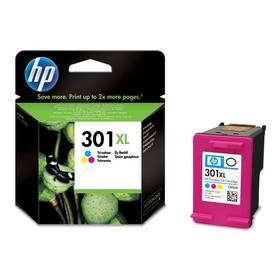 HP No. 301XL, 330 stran - originální (CH564EE) červená/modrá/žlutá (rozbalené zboží 5800133553)