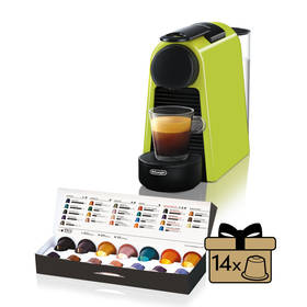 DeLonghi Nespresso Essenza Mini EN85.L zelené + Doprava zdarma