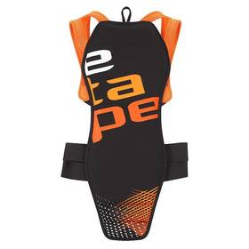 Etape Back Pro, vel. M (170-180 cm) černý/oranžový + Doprava zdarma