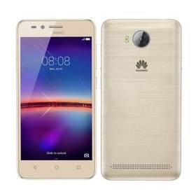 Huawei Y3 II Dual Sim (SP-Y3IIDSGOM) zlatý SIM s kreditem T-Mobile 200Kč Twist Online Internet (zdarma)+ Voucher na skin Skinzone pro Mobil CZ v hodnotě 399 KčSoftware F-Secure SAFE 6 měsíců pro 3 zařízení (zdarma)