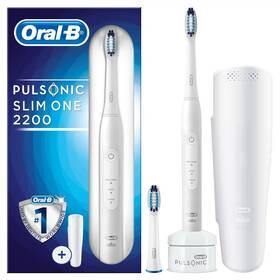 Oral-B Pulsonic SLIM ONE 2200 bílý