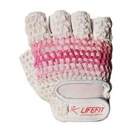 LIFEFIT Knit, vel. S biele/ružové