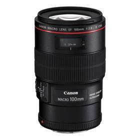 Canon EF 100 F/2.8 Macro L IS USM (3554B005AA) černý + Cashback 3400 Kč + Doprava zdarma