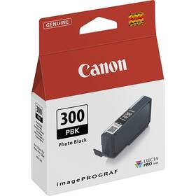 Canon PFI-300, 14,4 ml, PBK Foto černá (4193C001)