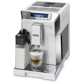 DeLonghi Eletta ECAM 45.760 W bílé/nerez + Káva DeLonghi Kimbo Classic 1kg zrnková v hodnotě 449 Kč+ Skleničky na latte macchiato DeLonghi v hodnotě 449 Kč + Doprava zdarma