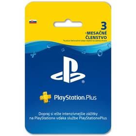 Sony PlayStation Plus Card 90 dní - pouze pro SK PS Store (PS719801054)