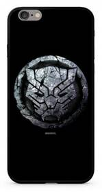 Marvel Premium Glass Black Panther pro Apple iPhone 6/6s Plus (MPCBPANT4502) černý