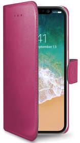 Celly Wally pro Apple iPhone X (WALLY900PK) růžové