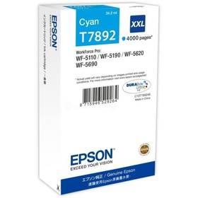 Epson T7892 XXL, 4000 stran (C13T789240) modrá