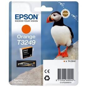 Epson T3249, 14 ml (C13T32494010) oranžová