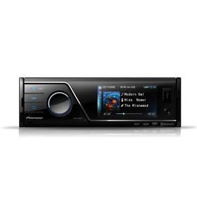 Pioneer MVH-8300BT černé Flash USB Pioneer 4GB (zdarma) + Doprava zdarma