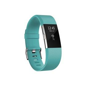 Fitbit Charge 2 large - Teal Silver (FB407STEL-EU)