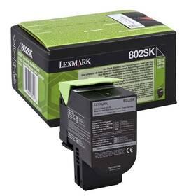 Lexmark 80C2SK0, 2500 stran, pro CX310dn, CX310n, CX410de, CX410 (80C2SK0) čierny