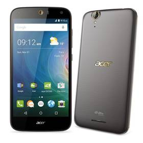 Acer Liquid Z630S LTE (HM.HT6EU.001) černý/zlatý SIM s kreditem T-mobile 200Kč Twist Online Internet (zdarma)+ Voucher na skin Skinzone pro Mobil CZ v hodnotě 399 Kč jako dárek + Doprava zdarma
