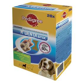 Pochúťka Pedigree DENTA Stix Medium 28 ks