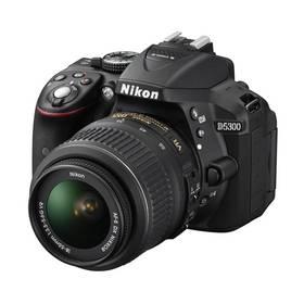 Nikon D5300 + 18-55 AF-S DX VR černý + Doprava zdarma