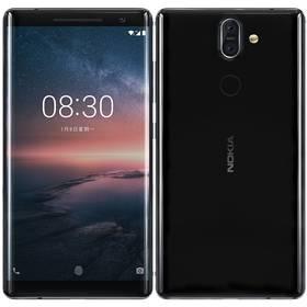 Nokia 8 Sirocco (11A1NB01A05) černý Software F-Secure SAFE, 3 zařízení / 6 měsíců (zdarma) + Doprava zdarma