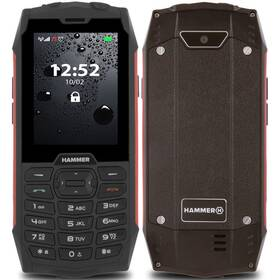 myPhone Hammer 4 Dual SIM (TELMYHHA4RE) červený (vrácené zboží 8800971108)
