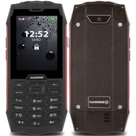 myPhone Hammer 4 Dual SIM (TELMYHHA4RE) červený