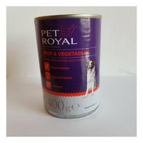 Pet Royal Premium paté s hovädzím a zeleninou 400 g