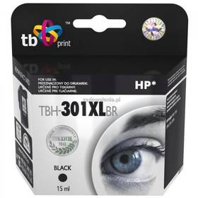 TB HP CH563EE (No.301XL) refil - kompatibilní (TBH-301XLBR) černá