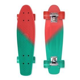 Street Surfing Beach Board Color vision + Reflexní sada 2 SportTeam (pásek, přívěsek, samolepky) - zelené v hodnotě 58 Kč + Doprava zdarma