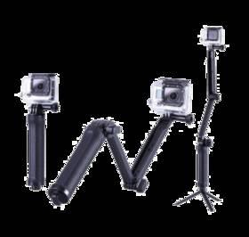 Niceboy 3-Way Grip   Arm   Tripod (N238) černý