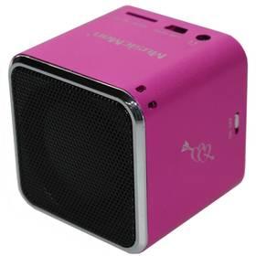 Technaxx Mini MusicMan (3531) růžový