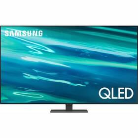 Televízor Samsung QE75Q80A strieborná