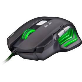 C-Tech Akantha (GM-01G) čierna/zelená