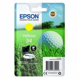 Epson 34, 300 stran (C13T34644010) žltá