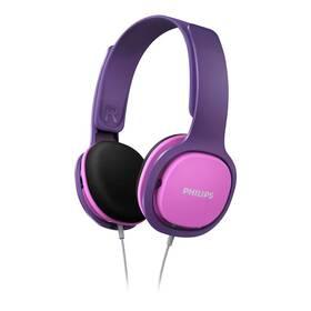 Philips SHK2000 (SHK2000PK/00) růžová/fialová