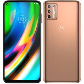 Motorola Moto G9 Plus 4/128 GB (PAKM0013PL) zlatý