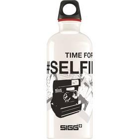 Sigg Selfie Time 0,6L černá/bílá