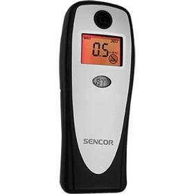 Alkoholtestér Sencor SCA BA01 V2 čierny/strieborný