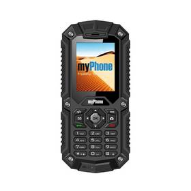 myPhone HAMMER DUAL SIM (TELMYHHAMBK) černý SIM s kreditem T-Mobile 200Kč Twist Online Internet (zdarma)