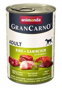 Animonda Adult Gran Carno králik + bylinky 400 g