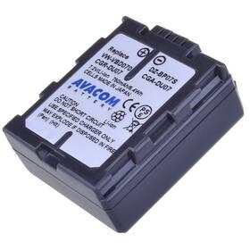 Avacom Panasonic CGA-DU07/CGR-DU07/ VW-VBD07, Hitachi DZ-BP07S Li-Ion 7.2V 750mAh 5.4Wh (VIPA-DU07-532) čierna