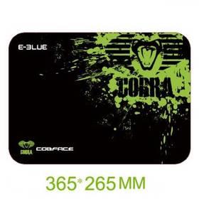 Podložka pod myš E-Blue Cobra M - herní, černo-zelená (EMP005-M) čierna farba/zelená farba