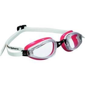 Michael Phelps Aqua Sphere K180 lady clear bílé/světle červené
