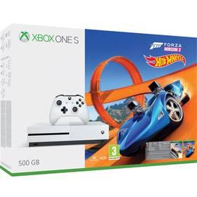 Microsoft Xbox One S 500 GB Forza Horizon 3 + rozšíření Forza Horizon 3 Hot Wheels + 14 denní Xbox LIVE GOLD (ZQ9-00211) + Doprava zdarma