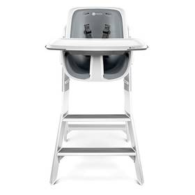 4moms HIGH CHAIR white/grey + Doprava zdarma