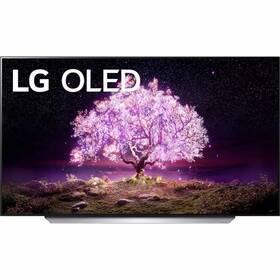 LG OLED77C12 stříbrná/bílá