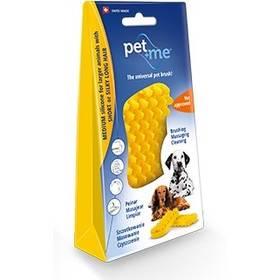 Pet and Me pro psy s krátkou srstí žlutý