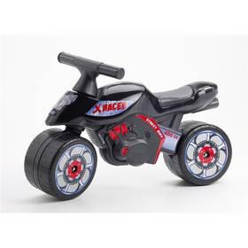 FALK motorka černé/plast + Reflexní sada 2 SportTeam (pásek, přívěsek, samolepky) - zelené v hodnotě 58 Kč